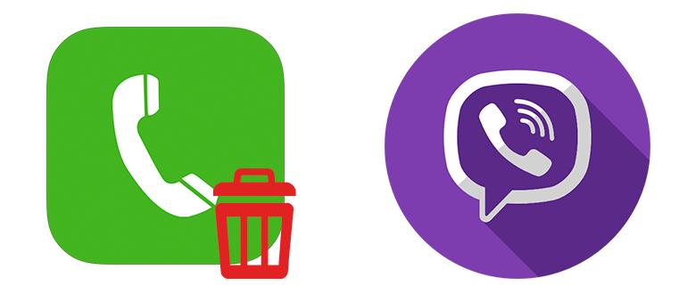 Как удалить вызовы в Viber