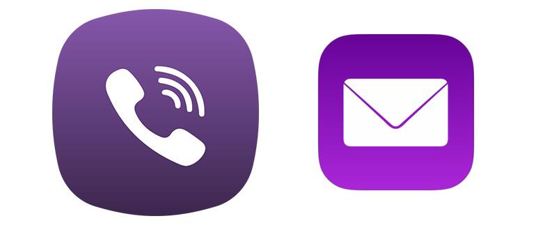 Сообщения Viber