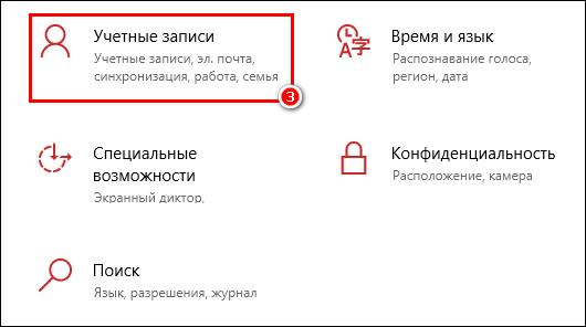 Учетные записи Windows
