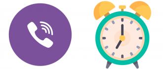 Время посещения Viber
