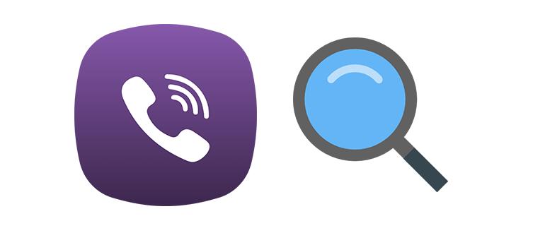 Как можно найти человека по номеру телефона в Viber logo
