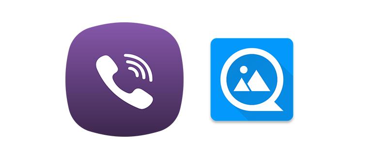 Смена фото в Viber