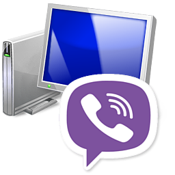 Сохранение с использованием программы на компьютере Viber