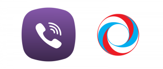 Сообщение от гослото Viber logo