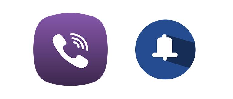 Уведомления в Viber logo