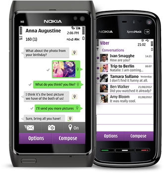 Viber на Nokia N8