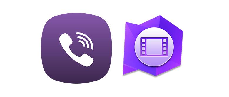 Видео для Viber logo